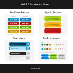 Web 2.0 Graphics - Free .PSD by ejsing