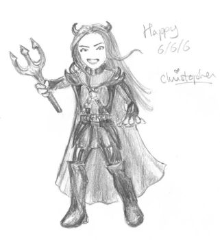 666 Christopher by Suiki