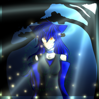 Midnight forest **Contest Prize** by StellaKitsuna