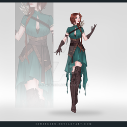 (CLOSED) Adoptable Outfit Auction 306 by JawitReen