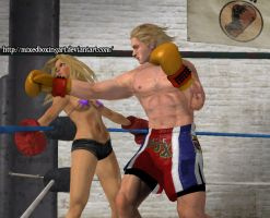 Right Cross Angle 2 - Mixed Boxing by MixedBoxingArt