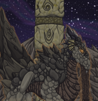 A Living Lonely Mountain by FallenGems
