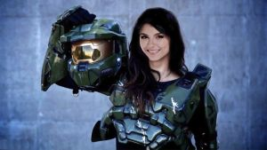 Victoria Justice Is Master Chief by Encore2012