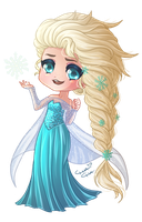 : Disney Doll : Elsa by MissElysium