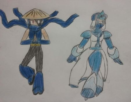 The Shinobi and the Ice Skater by Som3bode