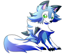 SN: Cute little wolf by MoonRayCZ