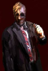 Two-Face (2014) by FuglenThomas