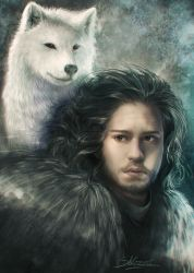 JON SNOW by Shilozart