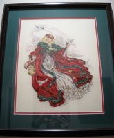 Counted Cross-stitch Angel by Pegasi1978