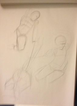 Gesture Drawings Collection 9 by jdowdy