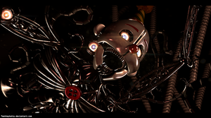 [FnaF-Sfm poster] Ennard by Teetheyhatty