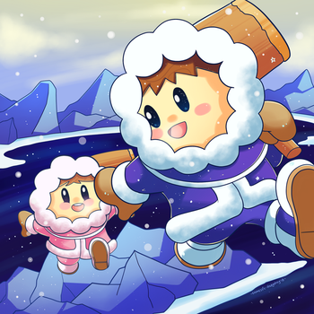 Smash Bros. Ice Climbers by Domestic-hedgehog