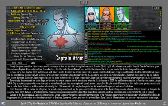 [Earth-27: Oracle Files] Cameron Scott (2/2) by Roysovitch