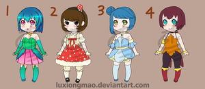 Adopts_Chibi Set #1 [OPEN] by LuXiongMao