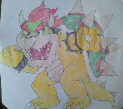 It's Bowser's time to Shine by BenorianHardback26