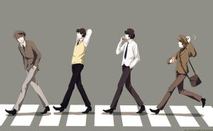 .:Retro Road Crossing:. by PepperMoonFlakes