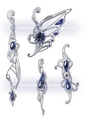 Jewellery design by kaminary-san