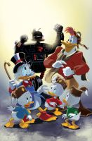 Ducktales Cover Color by lazesummerstone