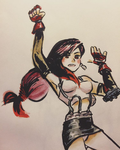 FF7 // Another Tifa Lockhart by adrawer4ever