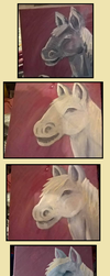 White Cob Stages #1 by hannerrp