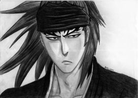 BLEACH - Renji Abarai by AidenKyoto