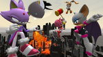 City rampage: battle of the fury giantess 3 by lordadrian1000
