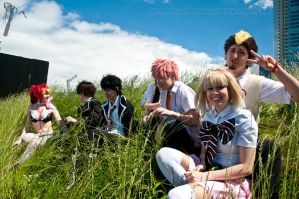 Blue Exorcist: Shiemi and Friends by VandorWolf