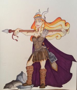 Work- The Valkyrie by DeathByMarshmallows