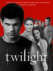The Twilight Saga Poster by MidNightMagnificent