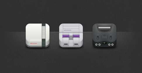 Nintendo Icons by toddham