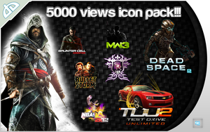 5000 Views icon pack!!! by ReDes1gn