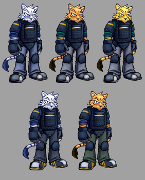 New Tiger Character WIP (Update) by G-Wolfe