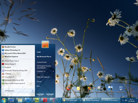 Windows 7 RTM style for XP by saintlouiss