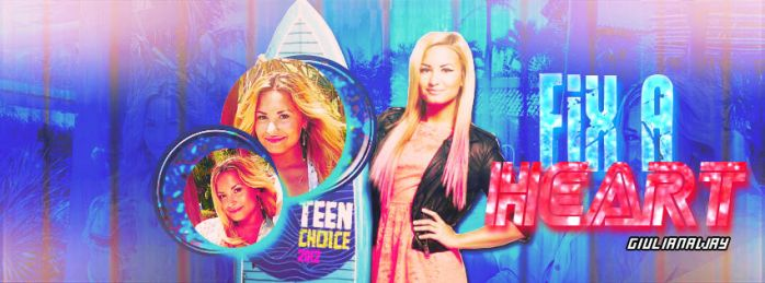 Demi Lovato Facebook Cover by xblaackparadex
