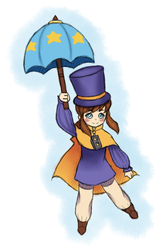 [A Hat In Time] Hat Kid- (Fanart) by Chao11