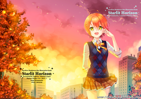 Hoshizora Rin illustbook cover by Trianon-dfc
