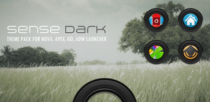 Sense Dark Theme Pack for Android by bagarwa