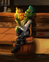 Ayo the Goblin Pirate... by Niahawk