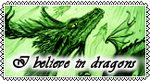 I believe in dragons - big Stamp - by Gewalgon