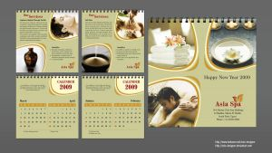 Calender Spa 2009 by solo-designer