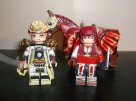LEGO Fire Emblem Fates: Odin and Selena Reclassed by TommySkywalker11