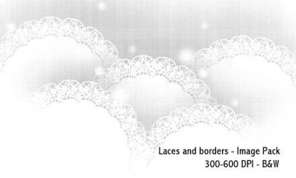 Laces 300-600 DPI by screentones