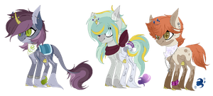 Witch Ponies Adopts - Auction [CLOSED] by Pikadopts