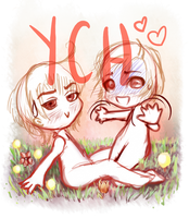 YCH- Couple on offer [CLOSED] by Complicada