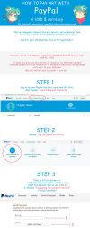 TUTORIAL How to pay art with Paypal for Skunkyfly by Skunkyfly