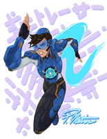 Cadet Oxton Dashes to Action by BW-Straybullet