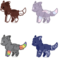 Cheap Wolf Auction // Open 3/4 by FrostyyAdopts