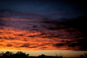 Sunset 160207 by CarlMillerPhotos