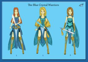 The Blue Crystal Warriors Point Adopt CLOSED by JxW-SpiralofChaos