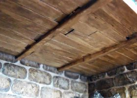 Steampunk House Basement Ceiling Detail by Kyle-Lefort